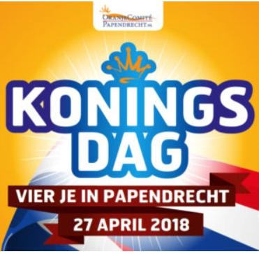 Koningsdag vier je in Papendrecht
