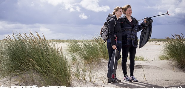 Het schoonste strand van Nederland