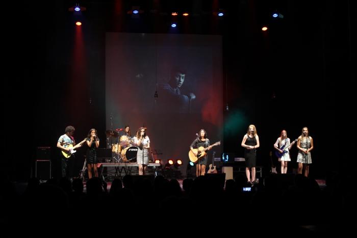Willem Junior Academie in concert