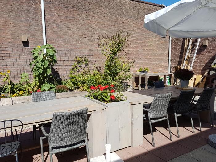 patio van De Tuin van de Spil