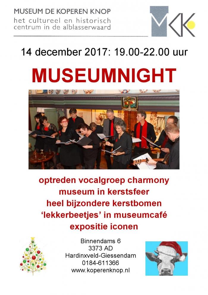 Museum night Koperen Knop
