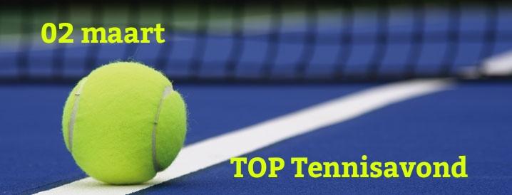 Tennisavond bij TOP