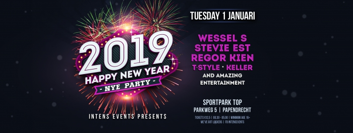 INTENS Events presents NEW YEAR'S EVE 2019!