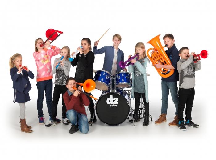 Gratis lessen Muziek ABC bij Excelsior Papendrecht
