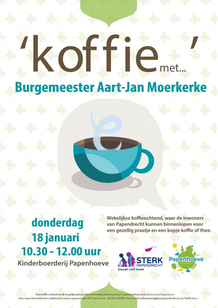 'Koffie met de burgemeester'