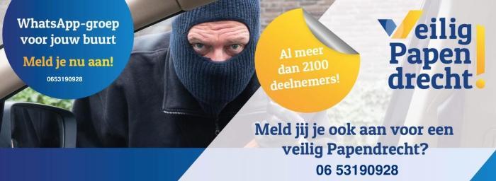 Meld jij je ook aan voor veilig Papendrecht?